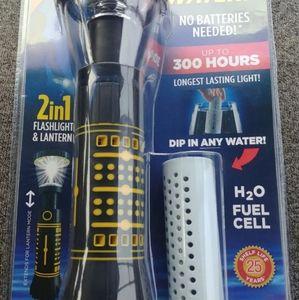 """Water""  Hydralight 2-in-1 Flashlight"